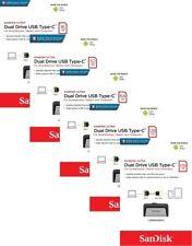 SanDisk SDDDC2 16GB 32GB 64GB 128GB 256GB Ultra Dual TYPE-C USB 3.1 Drive LOT