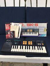 FANTASTIC Vintage Retro Casio SK-5 Sampling Keyboard Rhythm Japan Toy