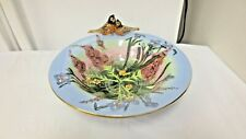 "2002 Artist Heather Goldmine Blue Sky Clayworks 10 3/4"" Footed Centerpiece bowl"