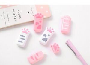 Cute Cat Claw Portable Correction Tape Random Color Gift Stationery Student