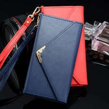 Women Leather Envelope Wallet Phone Case For iPhone 11 Pro XR X 7 8 6s Plus