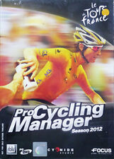 ** Pro Cycling Manager Season 2012 : Tour De France ** PC DVD GAME * Brand new *