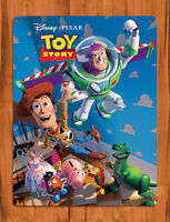 "TIN SIGN ""Toy Story Characters"" Disney Pixar Movie Wall Decor"