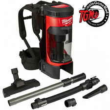 Milwaukee 18V Fuel Brushless 3-in-1 Backpack Dry Vacuum Dust Extractor M18FBPV-0