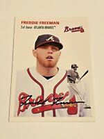 2012 Topps Archives Baseball Base Card #5 - Freddie Freeman - Atlanta Braves