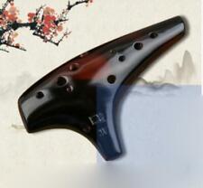 12 Holes Ocarina Alto C key Flute Handmade Ceramic Ocarina Musical Instrument
