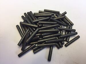 Qty 10 4mm x 30mm COILED PINS (SPIROL, SPIRAL, SWISS ROLL TYPE) ISO 8750 STEEL