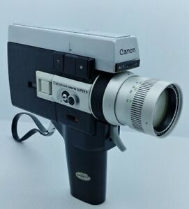 Vintage Canon Auto Zoom 518  SUPER 8 film movie camera
