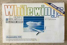 WHITE WINGS VOLUME ONE 15 PAPER AIRPLANES DR YASUAKI NINOMIYA 1986 MADE IN JAPAN