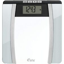 Weight Watchers by Conair Body Analysis Glass Bathroom Scale; Measures Body.