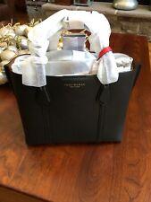 NWT Tory Burch Black Perry Small Triple Compartment Handbag