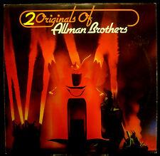 2erLP ALLMAN BROTHERS - 2 originals of, FOC, GER, nm