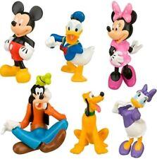 TOPOLINO 6 PERSONAGGI La Casa Di Statuette Torta Cartone TV Toy Disney Statuine