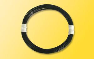 Viessmann 6890 Spezialdraht 0,03 mm², schwarz 5 m, Grundpreis 1 m = € 0,36