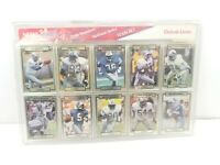 Detroit Lions 1990 Team Set NFL Football Cards Premiere National Series New