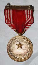 #10203 WWII US ARMY GOOD CONDUCT MEDAL NUMBERED WW2
