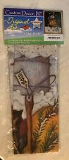 """NEW SNOWMAN'S TREE LAWN YARD FLAG 28"""" x 40""""-NEW"""