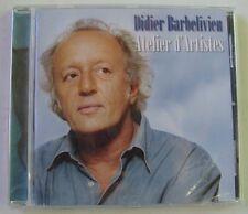 DIDIER BARBELIVIEN (CD)  ATELIER D'ARTISTES  / NEUF SCELLE