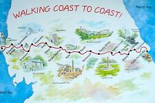 SOUVENIR FRIDGE MAGNET of COAST to COAST LONG DISTANCE FOOTPATH