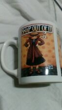 "Mary Engelbreit (Me) Coffee Mug Cup ""Snap Out of It"" 12 Ounces Capacity Euc"