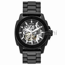 Fossil Original ME3080 Men's Modern Machine Black Stainless Watch 50m Automatic