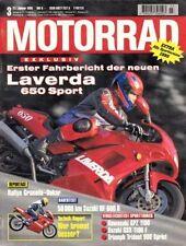 M9503 + LAVERDA 650 Sport + Gebrauchtkauf HONDA CBX 750 F + MOTORRAD 3/1995