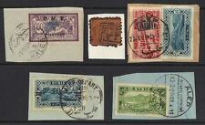 SYRIA 1921 27 ALEPPO HALEB FOUR NEAT FULL CANCEL ALL DIFFERENT INCLUDING ON 8 pi
