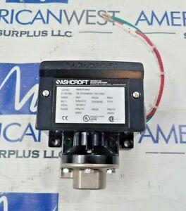 Ashcroft B464BXFSNH07 pressure switch Range 60psi 15A, 125/250/480VAC 1/2a, 125V