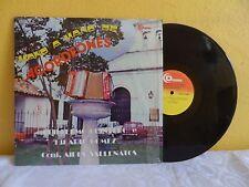 GUILLERMO QUINTERO E HILARIO GÓMEZ MANO A MANO DE ACORDEONES VENEZUELAN LP FOLK