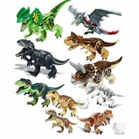 Jurassic World Brutal Raptor Building Blocks Jurrassic World 2 Dinosaur Figures