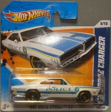 Hot wheels HW Main Street 11, '69 Dodge Charger Police