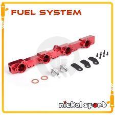 High Volume Flow Fuel Rail Kit For Nissan Silvia S13 SR20DET / Side Feed RED
