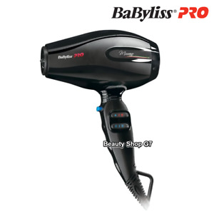 Professional hair dryer Babyliss Murano Ionic 2000W BAB6160INE *Made in Italy*