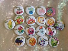 12 SHOPKINS  BADGES Party Bag Fillers