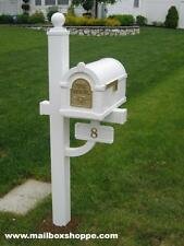 BEST SELLER! Gaines Keystone Mailbox, Deluxe Mail box Post & House Number Plaque