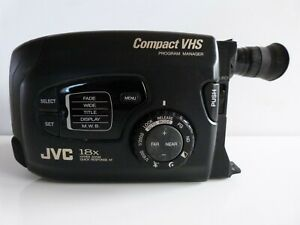 JVC GR-AX270E  Compact VHS Camcorder. Convert your old tapes to PC.