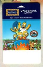 ROYAL PACIFIC RE/ UNIVERSAL ORLANDO RESORT The Simpsons Ride 2012 Hotel Key Card