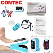 US FDA Finger Pulse Oximeter,Portable Heart Rate,SPO2 Monitor,Blood Oxygen Meter