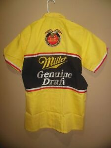 Vintage RUSTY WALLACE  MILLER GENUINE DRAFT Pit Crew Shirt