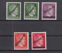 S4172/ AUSTRIA – SOVIET ZONE – MI # 660 / 663 MINT MNH