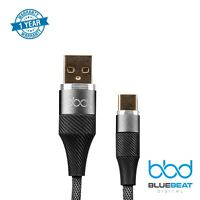 High-Speed Type-C USB Cable 3A Fast Charge & Sync, Durable Nylon Braided, 3.3ft