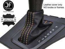 Tan Stitch Pelle Grana superiore automatico Ghetta Del Cambio si adatta VOLVO V70 S60 00-04
