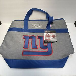 Coleman NFL NY Giants Cooler Insulated Tote Bag Grocery Getter Rawlings Football