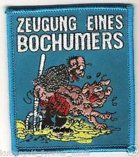 "Anti Bochum Aufnäher ""Zeugung"" Kutte Weste Fan Patch Block Kurve NEU + 9 x 8 cm"