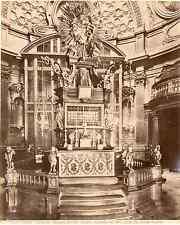 Italia, Torino. Cattedrale - Cappella del SS. Sudario  Vintage albumen print. It