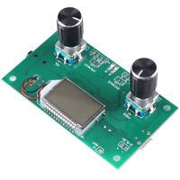 DSP PLL LCD Digital Stereo FM Radio Receiver Module PCB Serial Control