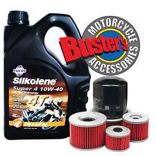 Silkolene Super 4 & Oil Filter Speed Triple T955 00-04
