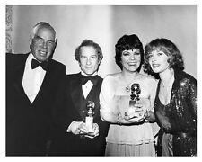 GOLDEN GLOBE award still with LEE MARVIN & cast THE GOODBYE GIRL - (c155)