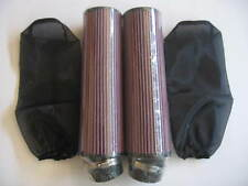 """38 - 44 mm Carb BANSHEE YFZ350 12"""" AIR FILTER W/COVER (Pair) Fit Year  2002"""