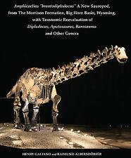 Jurassic Dinosaur Paleontology Sauropods Diplodocus Brontosaurus Barosaurus